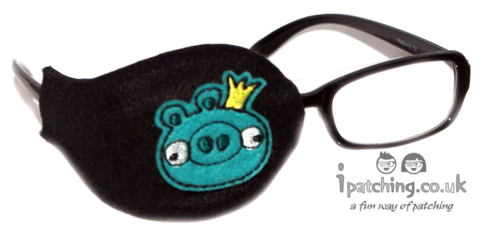 King Pig Angry Birds Eye Patch