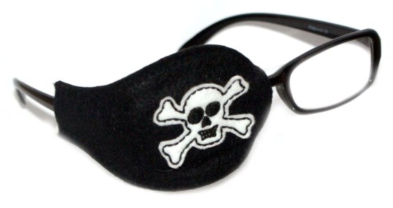 Skull Orthoptic Eye Patch