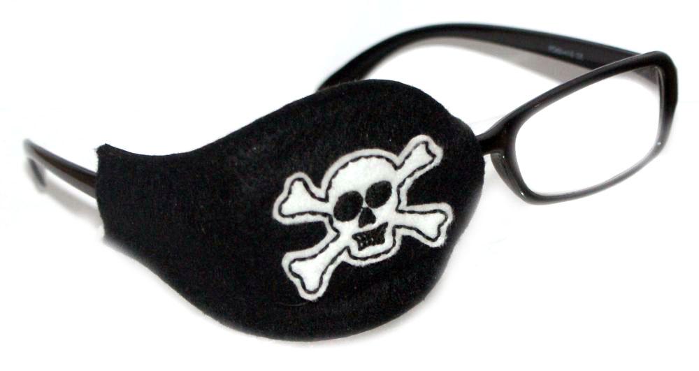 Skull Orthoptic Eye Patch