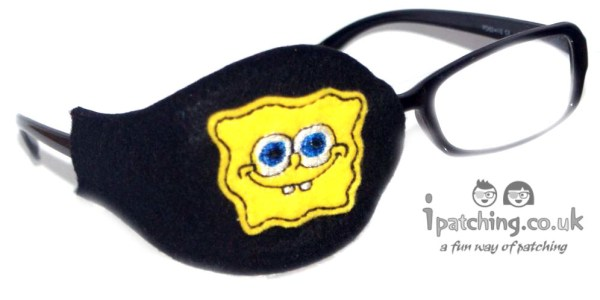 Sponge Bob Eye Patch