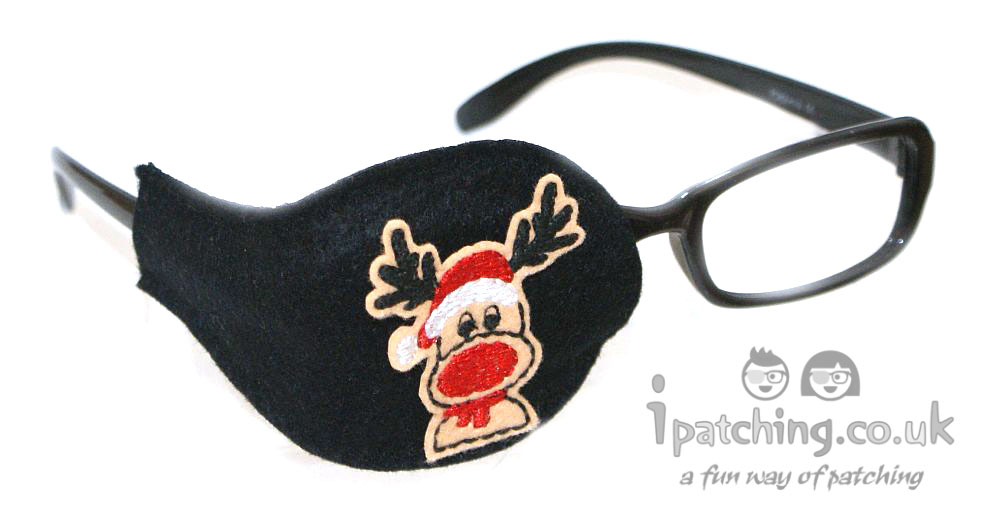 Rudolph Reindeer Orthoptic Eye Patch