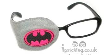 Batgirl Orthoptic eye patch