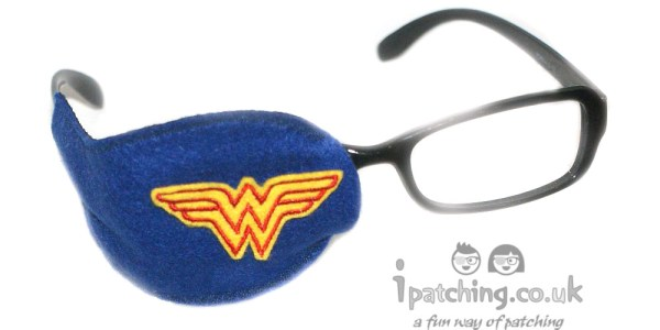 Wonder Woman Orthoptic eye patch
