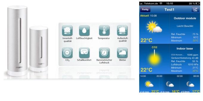 Daten der NetAtmo-Station in Weather Pro einbinden