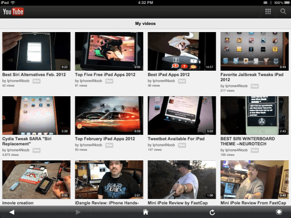 protube screenshot Awesome Cydia Apps For iPhone 4S or iPad 2 New Jailbreak 2012