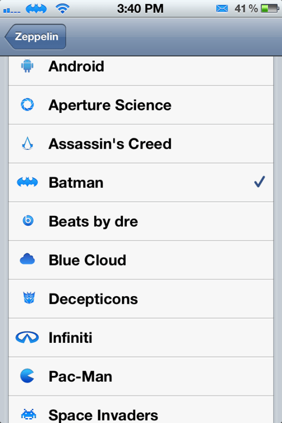 zepplin Cydia Tweaks February 2012