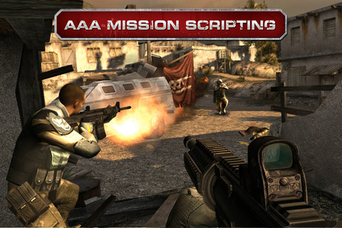 moderncombat3 Games For New iPad