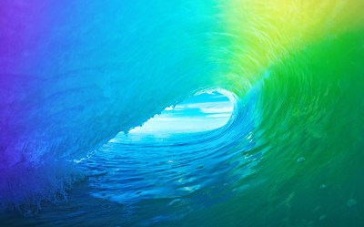 Download The Colored Wave Default iOS 9 Wallpaper | iPhoneTricks.org