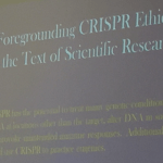 Does CRISPR need a warning label? asks Michael Zerbe