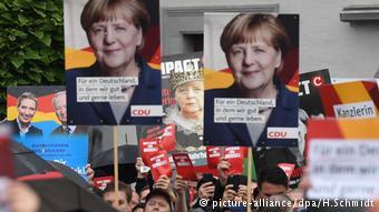 Από την προεκλογική εκδήλωση στη Σαξονία