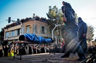 Kvinna piskad med 100 rapp på offentlig plats i Iran