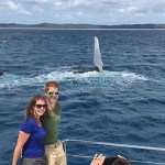 Humpback whale photo-bombs Dublin couple's holiday snap
