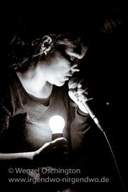 Melissmell – Chansons mit eindringlicher Reibeisenstimme