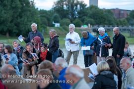 Abend am Fluss   Offenes Singen   Elbekirchentag Magdeburg