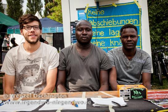 Sören Waack unterstützt die sudanesischen Flüchtlinge
