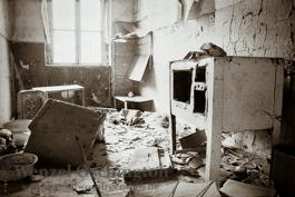 verlassene Wohnung | Magdeburg 1989