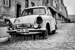 Magdeburg 1989  |  Hinterhöfe  |   alterTrabant