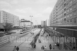 Magdeburg 1989  |  Liebigstraße |  Nordabschnitt Breiter Weg