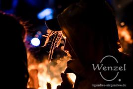 Wärme für ALLE –  Feuer beim WärmNachtsMarkt Buckau