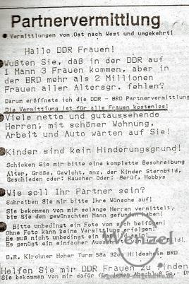 1990 - Ostfrauen gesucht