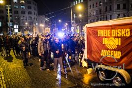 Gegendemonstration - MAGIDA Weg-Bassen