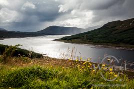 Blick auf Loch Garry