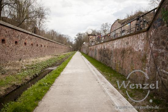 Festungsanlage Ravelin 2 –   Künette