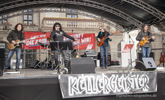 1. Mai Magdeburg - Kellergeister - Familienfest Alter Markt