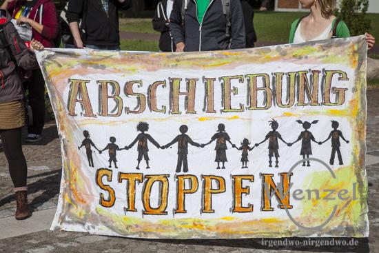 Wider die unmenschliche Flüchtlingspolitik - #dietotenkommen jetzt auch nach Magdeburg