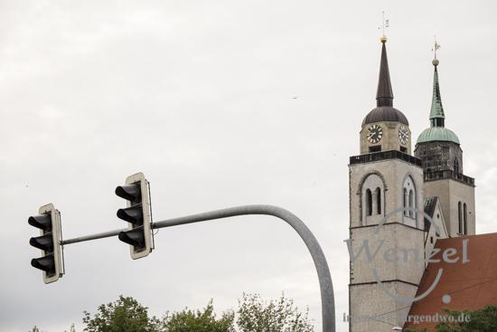 Johanniskirche Magdeburg – Start für den Abendspaziergang