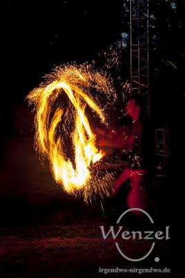 """Freaks on Fire"" mit beeindruckender Feuershow  // PyroGames Magdeburg"