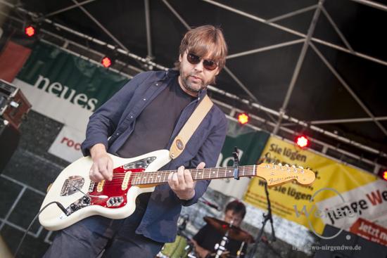 Duo Steinlandpiraten & Unbekannt Verzogen beim Festival Gundis Lieder – Gundis Themen im freiLand Potsdam