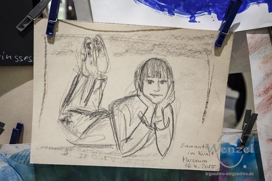 Kunstpädagogin Janette Wilke -  Gründermarkt Magdeburg 2015