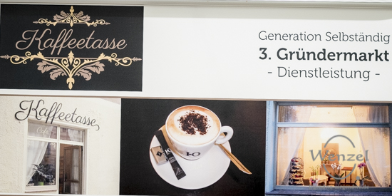 Caféhaus Kaffeetasse - Gründermarkt Magdeburg 2015