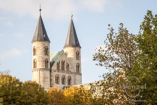 Magdeburg im Herbst -  Kloster Unser Lieben Frauen