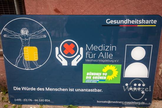 So könnte sie aussehen - die neue Gesundheitskarte für Asylbewerber