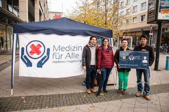 Die Menschenrechtsinitiative MediNetz Magdeburg e.V. macht auf die mangelhafte Gesundheitsversorgung Geflüchteter aufmerksam