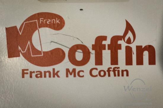 Studio Richtfest bei Frank Mc Coffin