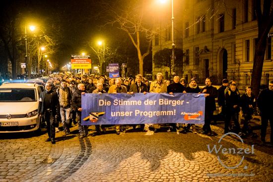 AfD Kundgebung - Domplatz Magdeburg
