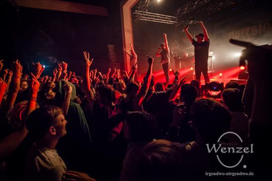 "Antilopen Gang auf  ""Aversion Tour"" in der Factory Magdeburg"