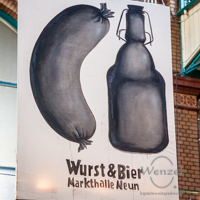 Wurst & Bier – Markthalle Neun / Berlin
