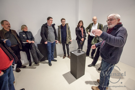 Dieter Lahme - Künstlergespräch - Kunstmuseum Kloster Unser Lieben Frauen
