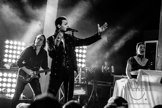 """Lacrimosa auf """"Unterwelt-Tour"""" - Konzert Factory Magdeburg"""