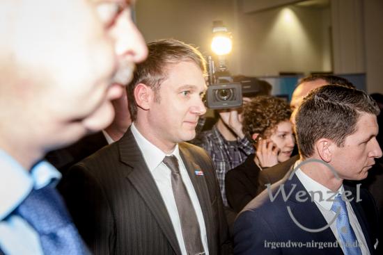 Landtagswahl Sachsen-Anhalt - André Poggenburg - fast ein Viertel der abgegebenen Stimmen  für die AfD