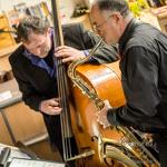 JazzZimmer bei Querstyle mit Mohi Buschendorf, Frank Schöpke und Fabio de Miguel
