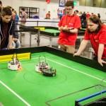 RoboCup Junior Finale in Magdeburg