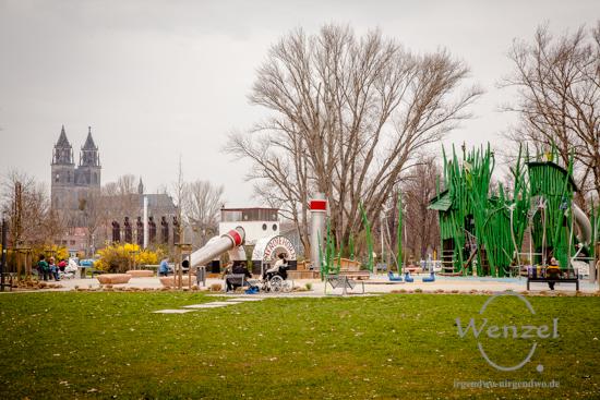 Spielplatz im Rotehornpark