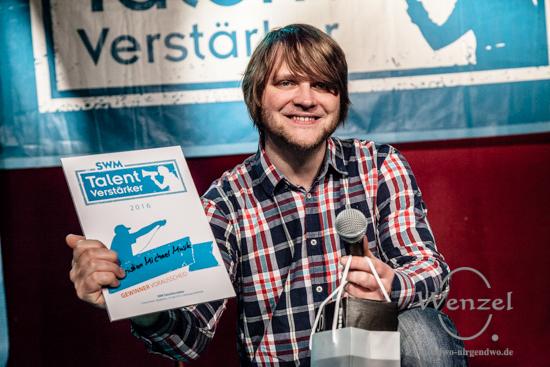 Christian Michael Musik - Publikumsgewinner beim 3. Vorausscheid