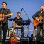 Konzert der Brüder Martin und Thomas Rühmann vor der Kulisse des Wissenschaftshafens