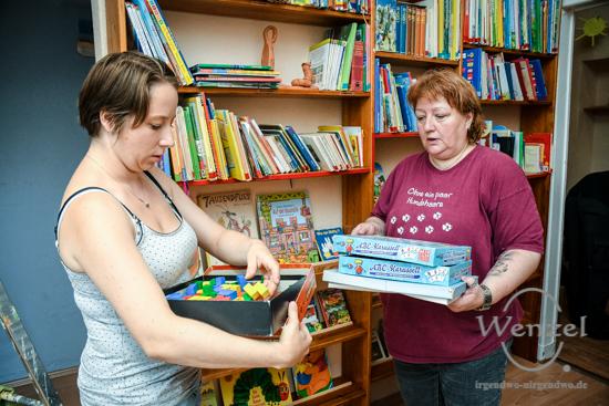 11. Magdeburger Freiwilligentag  –  Kinderbetreuung, Mandala, Hegelstraße –  Foto Wenzel-Oschington.de